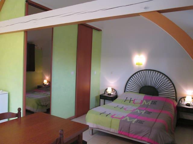 "Charmant studio ""kiwi"" au coeur du Périgord vert - Tocane-Saint-Apre - Apartamento"