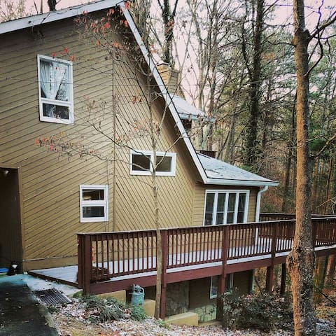 Cozy Naturist Home - Lilburn - Rumah