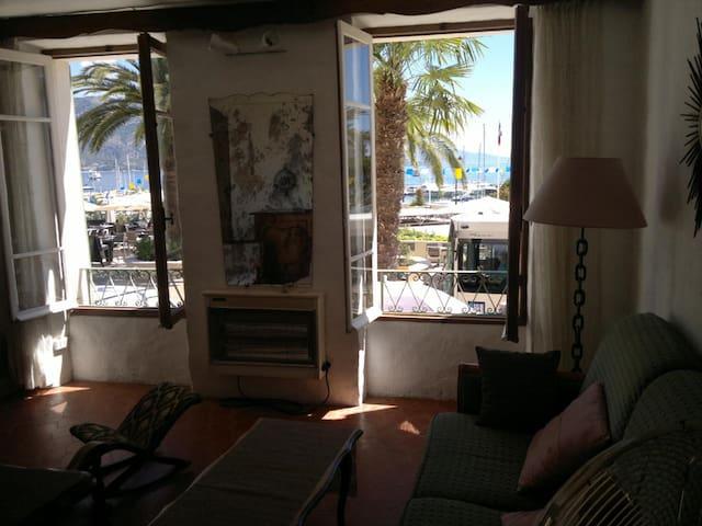 appartement vue mer et port de st jean cap ferrat - Saint-Jean-Cap-Ferrat - Appartamento