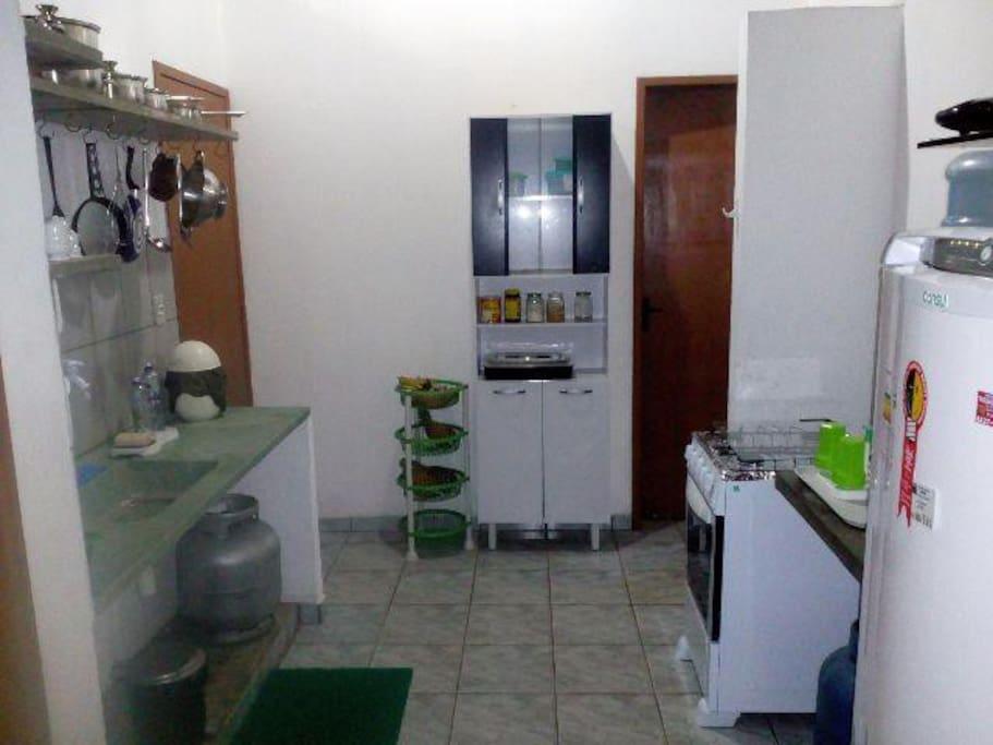 Ampla cozinha