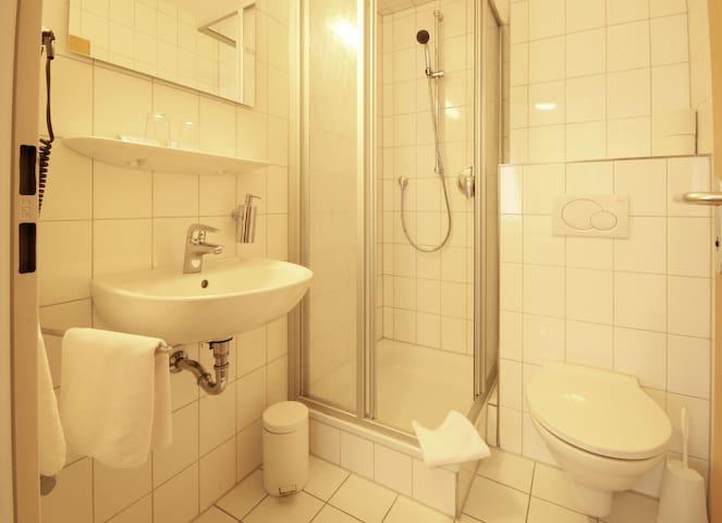 Doppelzimmer im Hotel Restaurant Geschermann