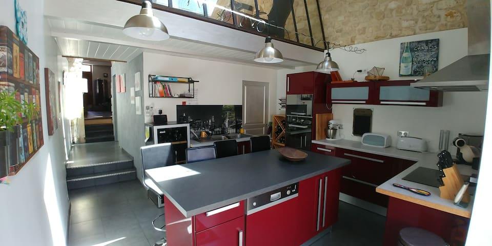 Charmante maison de bourg, 5 min. d'Angoulême