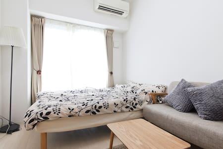 ⑦Natural room☆〜Osaka NAMBA area♪〜 - 大阪市 - Appartement