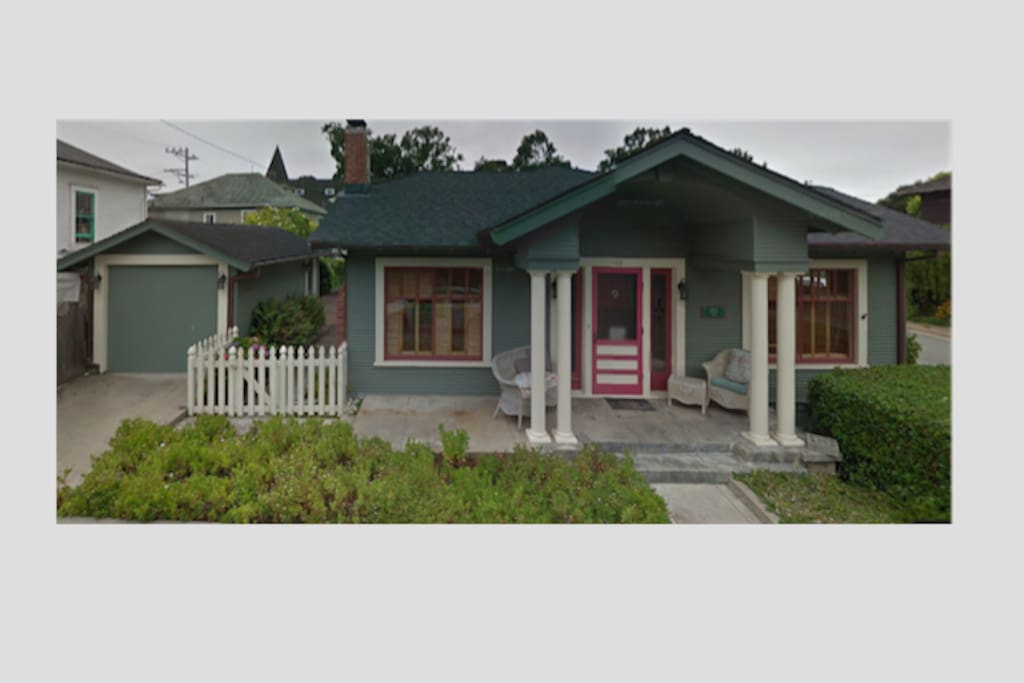 The Mermaid Cottage, Pacific Grove