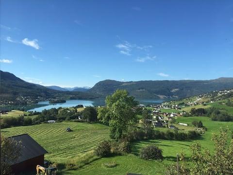 Hafslo Gjestehus apt 6 views from apt & balcony