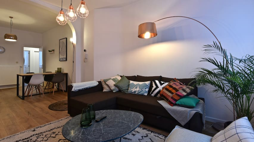 brand new ground floor apartment & terrace - Antwerpen - Lejlighed