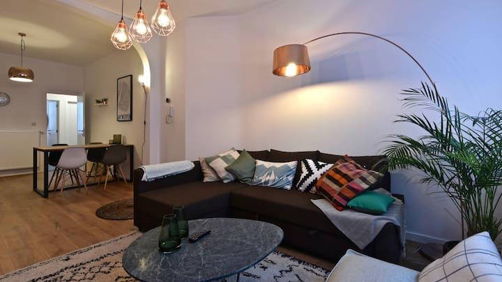luxurious ground floor apartment & terrace