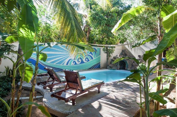 Beautiful apartment in private holistic villa