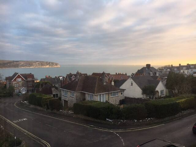 Large stylish house with sea views near beach