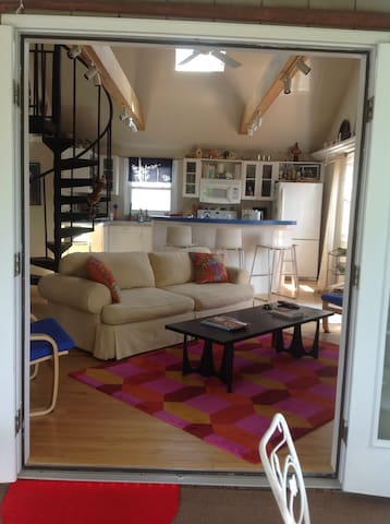 Airy loft with water view - Rehoboth Beach - Casa