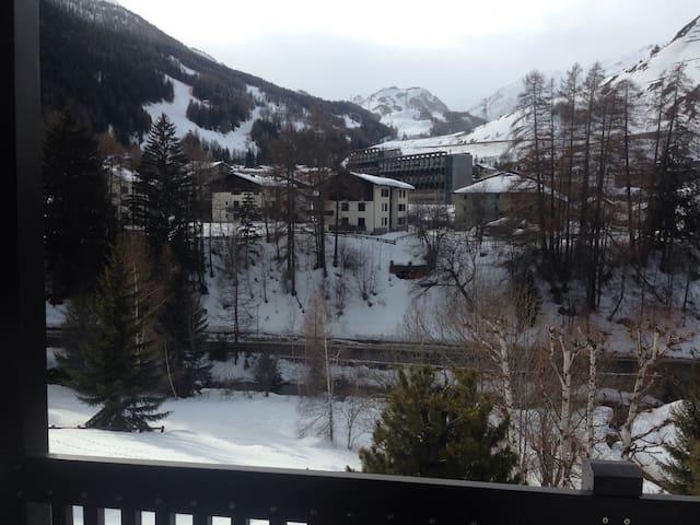 Panorama sulle piste da sci