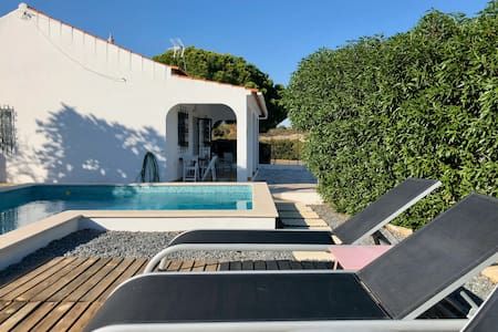 Modern rustic home Carvoeiro with private pool