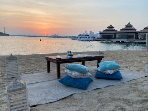 5* Anantara Dubai, 1 apartamento BDR, vista a la laguna