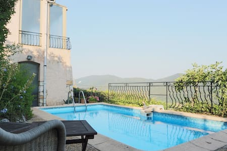 Authentic family villa with pool - Bargemon