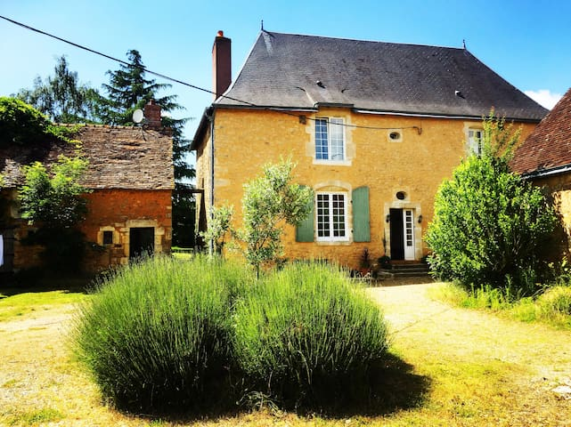 18th century French manor in extensive grounds - Saint-Symphorien - Casa