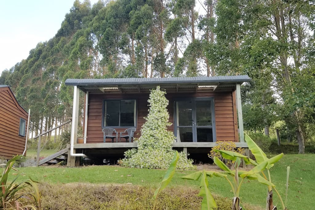 Kaitiaki retreat and self contained cabins cottages for for Self contained cabin