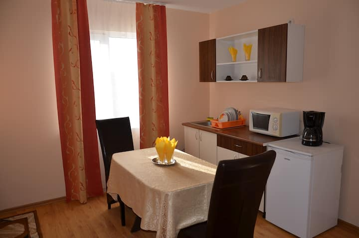 Apartament with 2 room, 4 person, breakfast,pools