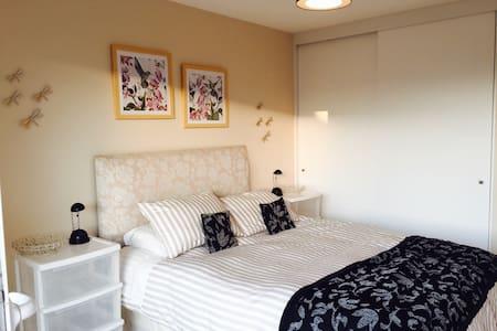 Hab cama 2 pl baño Valle lo Campino, next Airport - Quilicura