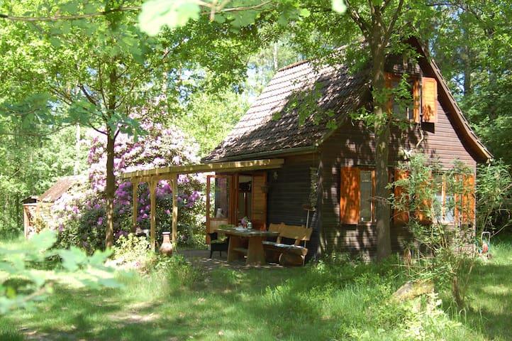 Hexenhaus in der Lüneburger Heide nahe Hamburg