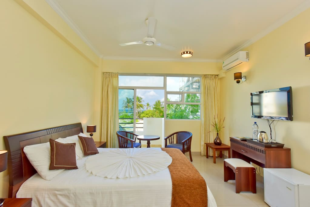 Deluxe Sea view Room with attached balcony