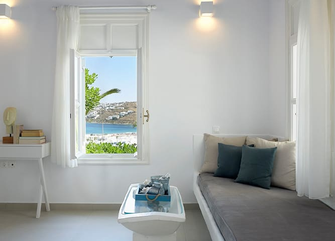 The 2-Bedroom House at Leonis Summer Houses - Ornos - Boutique-hotelli