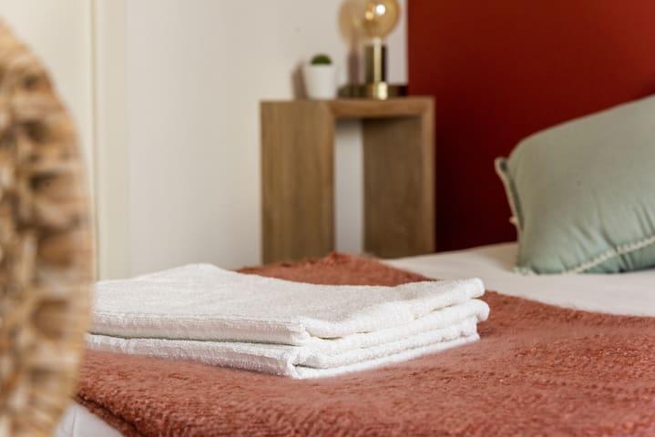 Draps & serviettes fournis