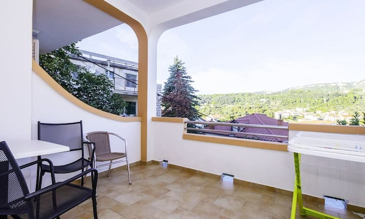 Apartments and Rooms Mlacović / Room Lotto S2 with Balcony