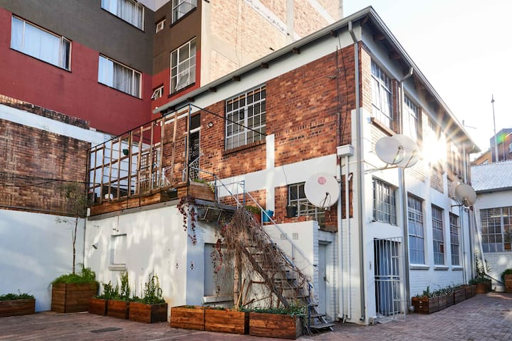 Live-work art studio in Maboneng