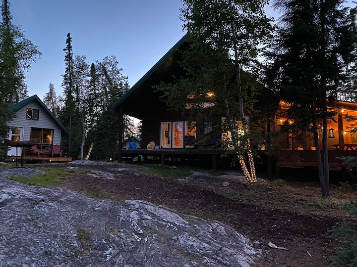Remote Rustic Saskatchewan Cabin