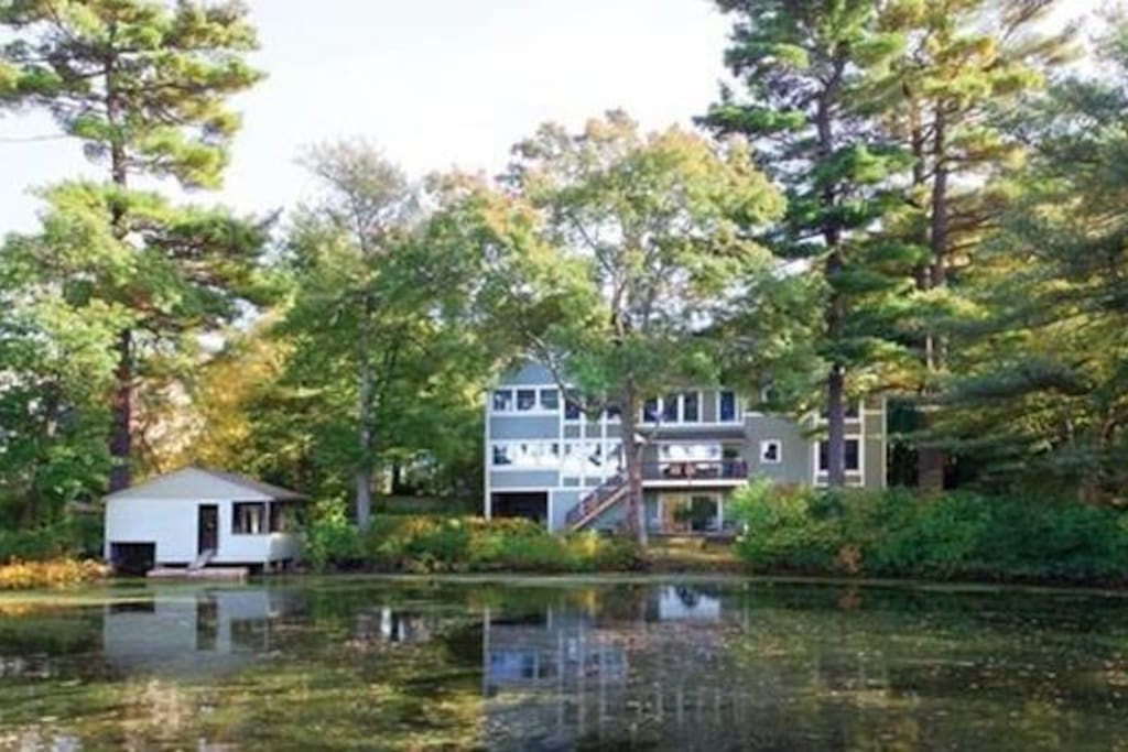 House is on the Charles River