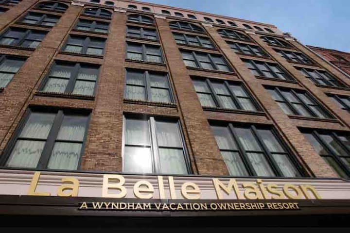 Wyndham La Belle Madison New Orleans 4-29- 5-2