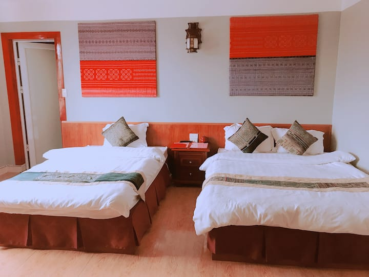 Sapa O'Chau Hotel - Triple Room (Merci)