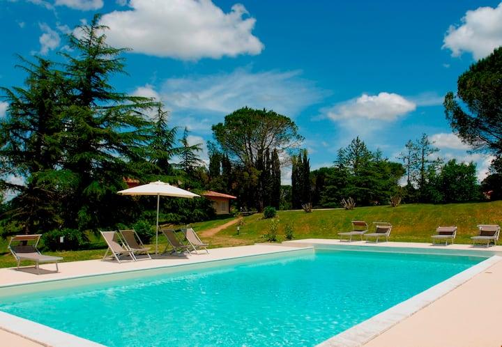 Villa Valderanda - Fauglia, villa, park, pool