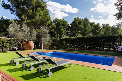Inolvidable casa en Begur con piscina privada