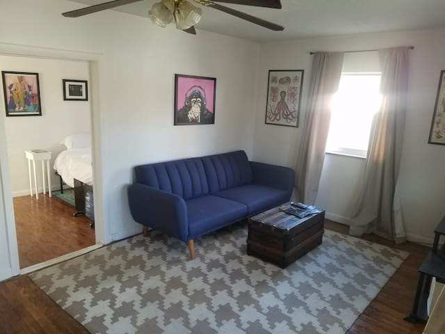 Unique and charming South Hills 1 bd/1bath home