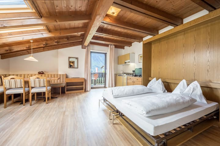 Cosy Holiday Apartment Freiberghof-App.6 with Pool, Balcony & Mountain View; Parking Available, Pets Allowed