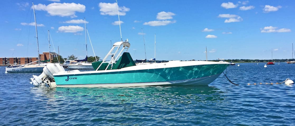 Fabulous 30' Intrepid Motor Yacht! - Newport - Barca