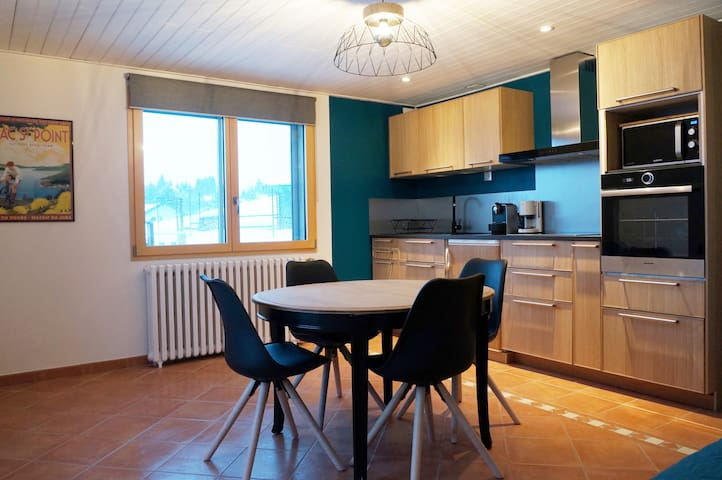 appartement 4-6 personnes lac de Saint-point