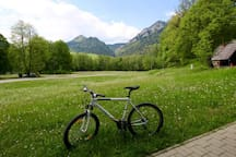 Bike rides around Podhale is one of the best activities.