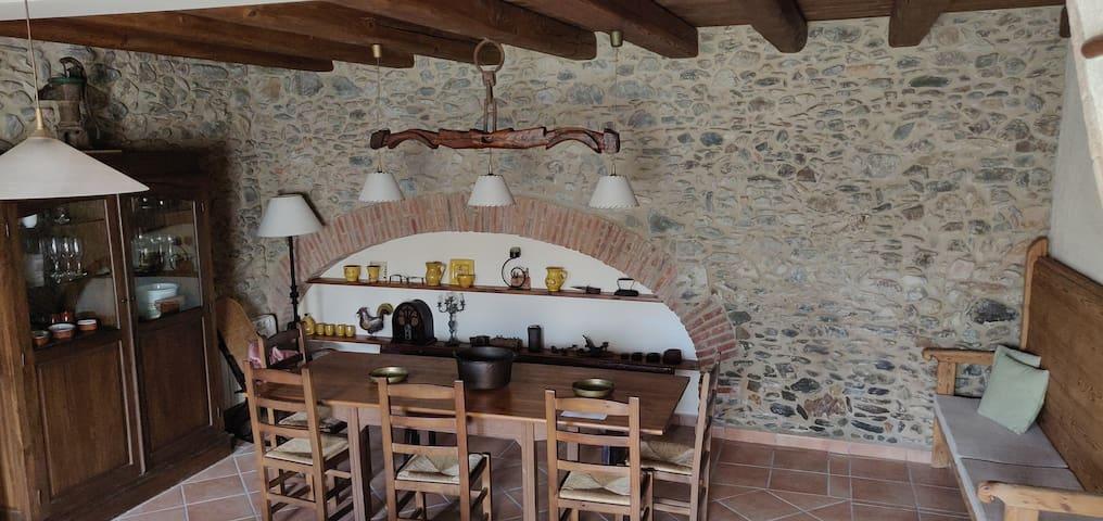 Casa rustica perfecta para conocer la Costa Brava