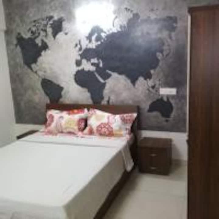 Comfy room - serviced apt-Phase 1 , Hinjewadi Pune
