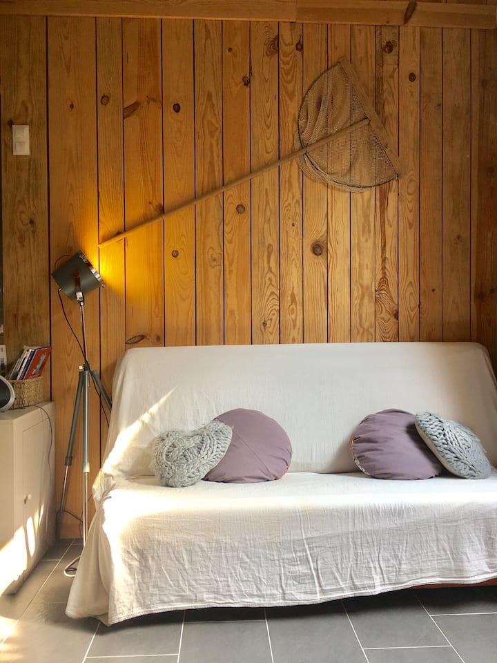 Loft Insolite cosy, d'architecte, tout en bois.