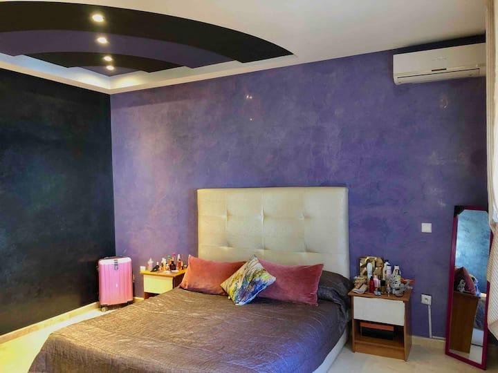 Suite+Salle de Bain Cozy Suite+bathroom in a Villa