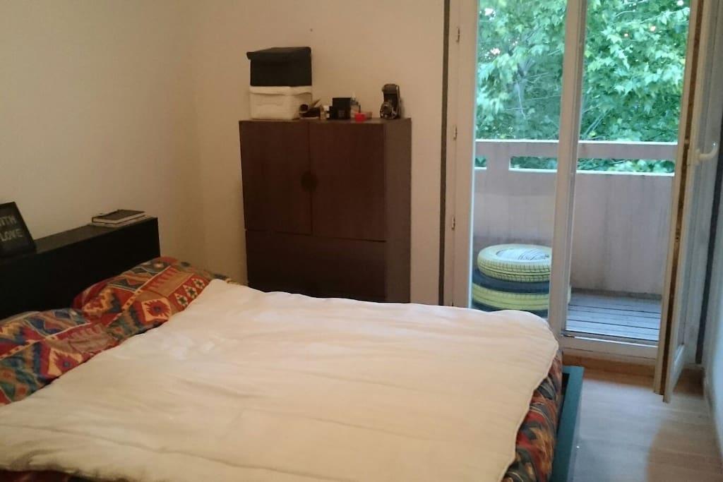 1ere chambre avec lit 160