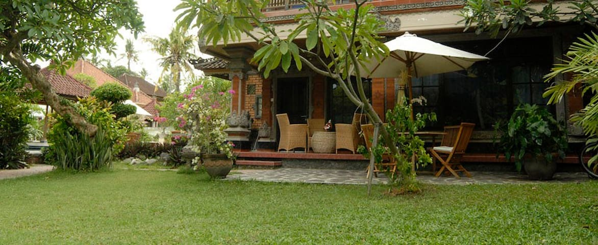 Balinese style apartment for rent.