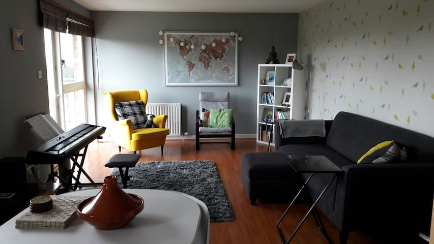 Modern top floor flat - Falkirk - Appartement