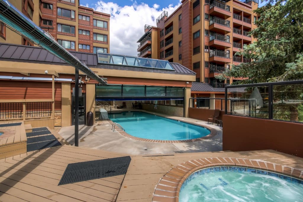 You'll love the wonderful community amenities including a fitness center, indoor pool, sauna, steam room, outdoor heated pool and hot tub!