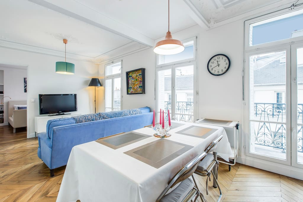 Charming apartment with balcony - 5 min Republique