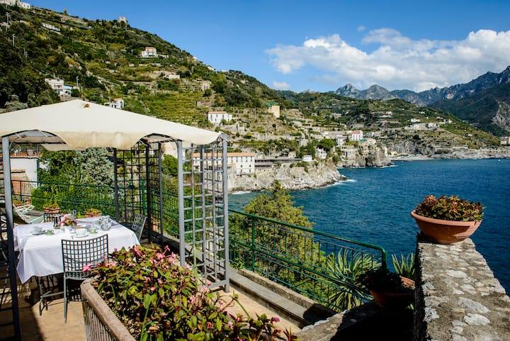 amalfi blue house 2 accesso privato al mare