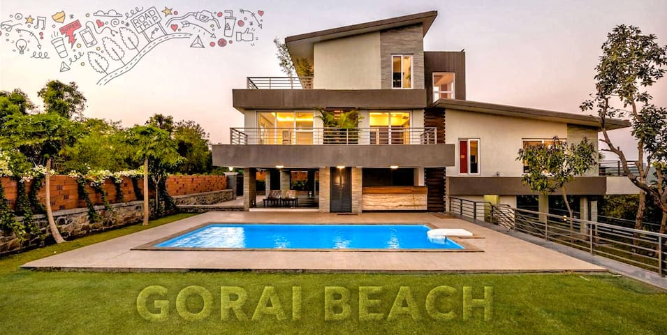 Gorai - Ocean Front - Private Pool Villa - 4 bed